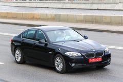 BMW F10 5 series Fotografía de archivo libre de regalías