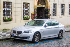 BMW F10 5-series Royalty Free Stock Photography