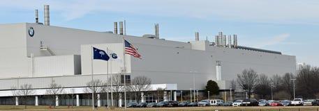 BMW Fabrykuje Automobilowego wytwórcy Greer SC fotografia royalty free