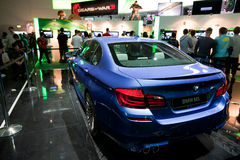 BMW at Forza Motorsport 4 booth Stock Photography