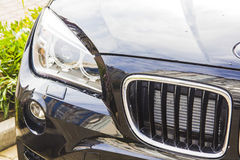 BMW front. Closeup of BMW restyle lantern Stock Photography
