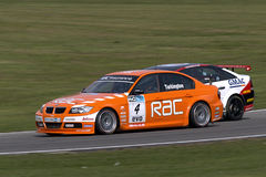 BMW gegen Vauxhall Lizenzfreie Stockfotos