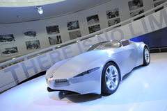 BMW GINA Light Visionary fabric-skinned concept car on display in BMW Museum Stock Photos