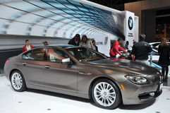 BMW Gran Coupe 6 Series Stock Photo