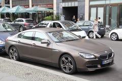 BMW 6 Gran Coupe da série imagem de stock royalty free