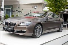 BMW Gran för 6 serie Coupe Royaltyfri Fotografi