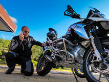 BMW 1200 GS L.C. Royalty Free Stock Images