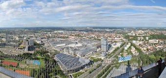 BMW högkvarter Arkivbild