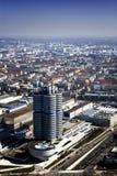 BMW högkvarter i Munchen Fotografering för Bildbyråer