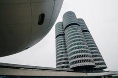 BMW högkvarter i Munich Arkivfoto