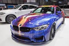 BMW 2015 Hamann M4 Стоковые Фотографии RF