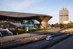 BMW Headquarter and museum in Monaco Stock Photo
