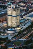 BMW Headquarter and museum in Monaco Stock Image