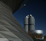 BMW Headquarters Royalty Free Stock Photos