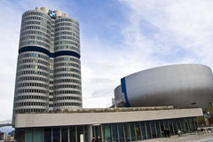 BMW headquarters Stock Photo