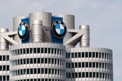 BMW Headquarters. Building in Munich, Germany Stock Photo