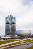 BMW Headquarters in Munchen Royalty Free Stock Images