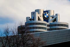 BMW Headquarters in Munchen Stock Photography