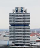 The BMW Headquarters in Munich Stock Photos