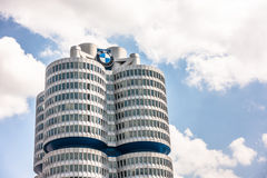 BMW-Highrise Stockbild