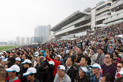 BMW Hong Kong Derby Raceday Royalty-vrije Stock Afbeeldingen