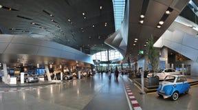 BMW-hoofdkwartiermuseum Stock Afbeeldingen