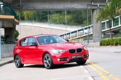 BMW 118i体育 免版税图库摄影