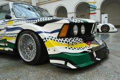 BMW 320i τούρμπο από το Roy Lichtenstein Στοκ Φωτογραφίες