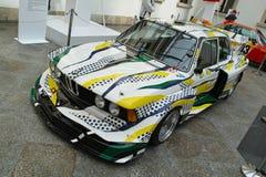 BMW 320i τούρμπο από το Roy Lichtenstein Στοκ Εικόνες
