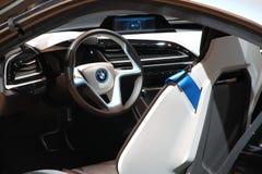 BMW i8概念 免版税图库摄影