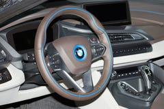 BMW i8跑车 库存图片