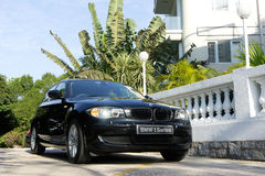 BMW 118i 免版税图库摄影