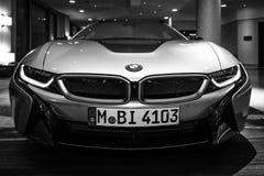 BMW i8 Foto de Stock Royalty Free