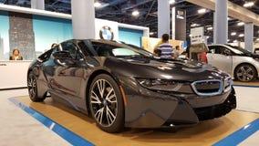 BMW i8 Imágenes de archivo libres de regalías