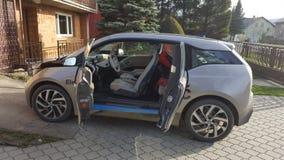 BMW i3 免版税库存图片