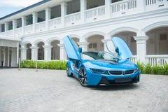 BMW i8 Immagine Stock Libera da Diritti
