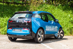 BMW i3 90Ah Drive Day Royalty Free Stock Image