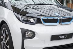 BMW i3 all-elkraft bil Arkivfoto