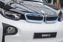 BMW i3 all-elkraft bil Royaltyfria Foton