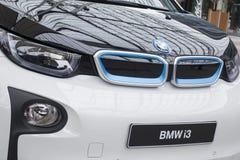 BMW i3 all-elkraft bil Royaltyfria Foton