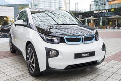BMW i3 all-elkraft bil Arkivbild
