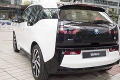 BMW i3 all-elkraft bil Fotografering för Bildbyråer