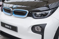 BMW i3 all-elkraft bil Royaltyfri Bild
