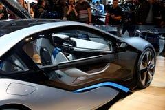 BMW i8 begrepp Royaltyfria Foton