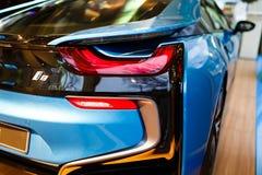 BMW i8 blandsportbil Arkivbilder