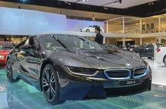 BMW i8 car Stock Photography