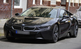 BMW i8 Royalty Free Stock Photos