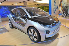 BMW i3 Concept car on display in BMW Welt Stock Photo