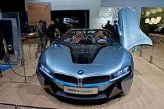 BMW i8 concept car Stock Photos