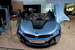 BMW i8 concept car Stock Photos